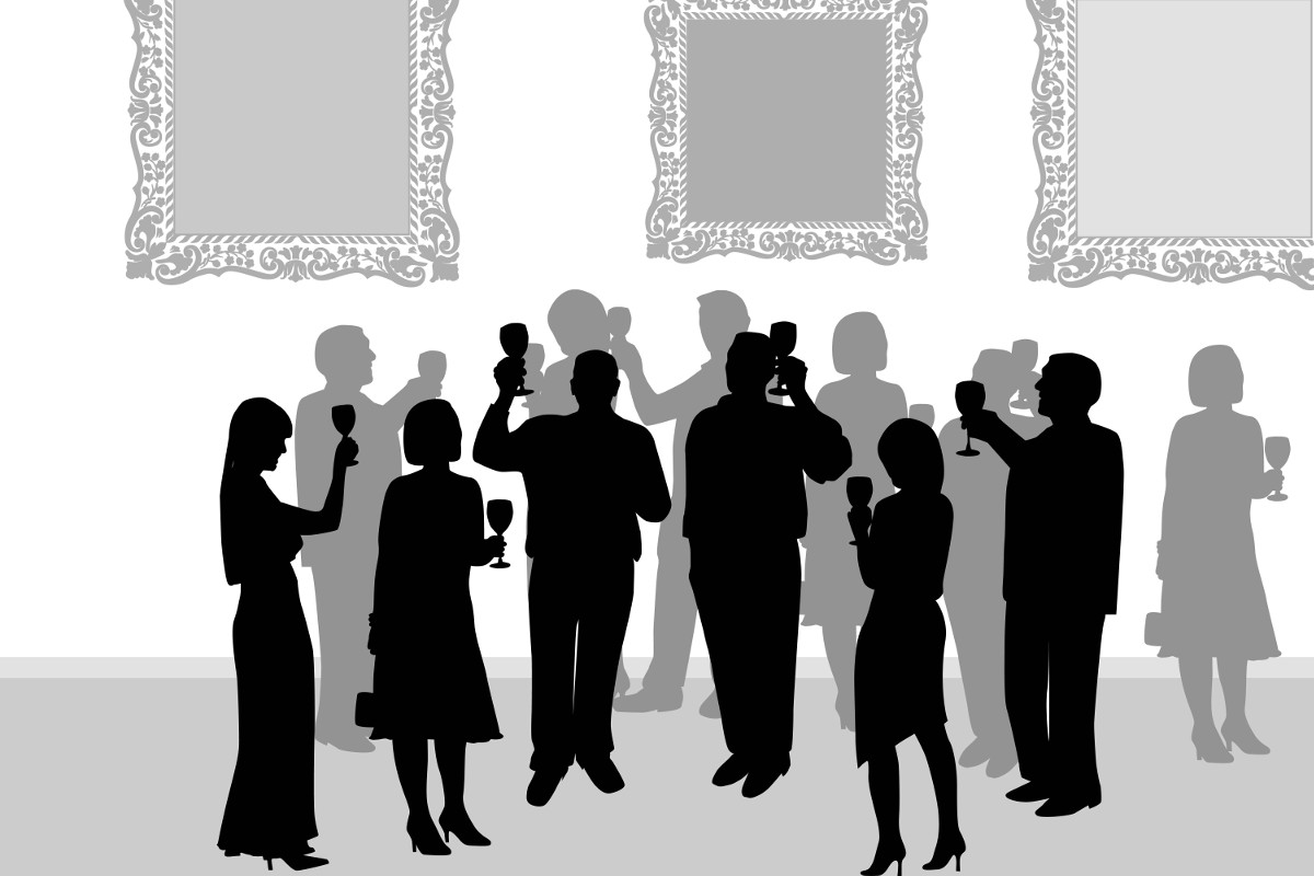 Silhouette Paintings Of People Tips And Strategies For Successful Art Gallery Marketing
