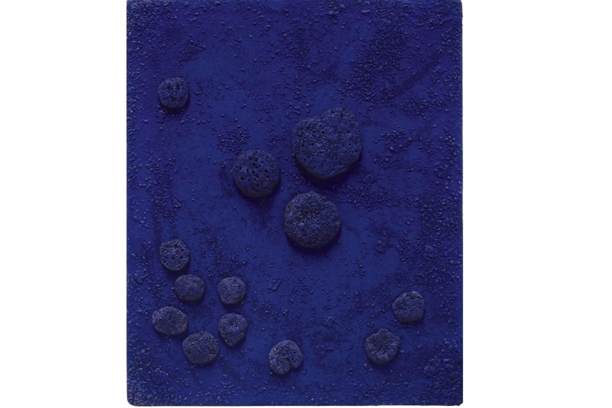 Le Bleu Klein The Most Precious Yves Klein Paintings Sold At Auction Widewalls