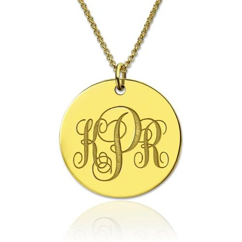 where to get a monogram necklace