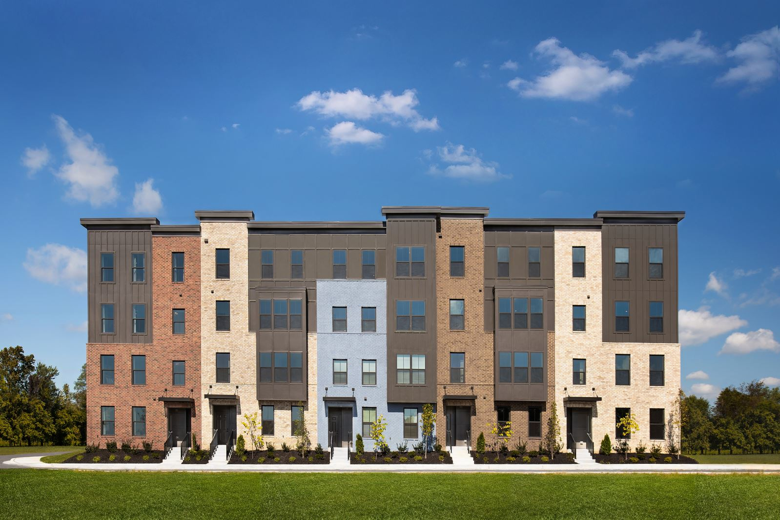 Paddock Pointe Townhome Condos In Laurel Md Prices Plans Availability