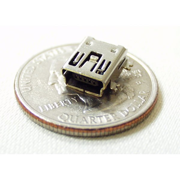 USB Mini-B SMD Connector
