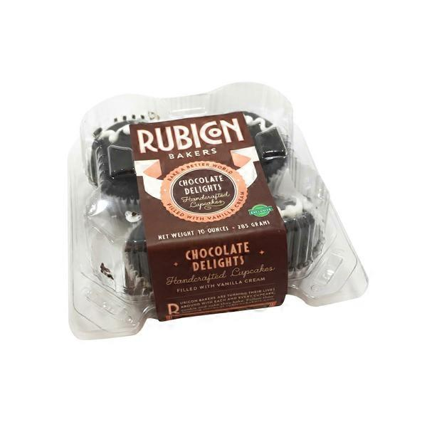 Rubicon Bakery Chocolate Delights Cupcakes (10 oz) from Whole Foods