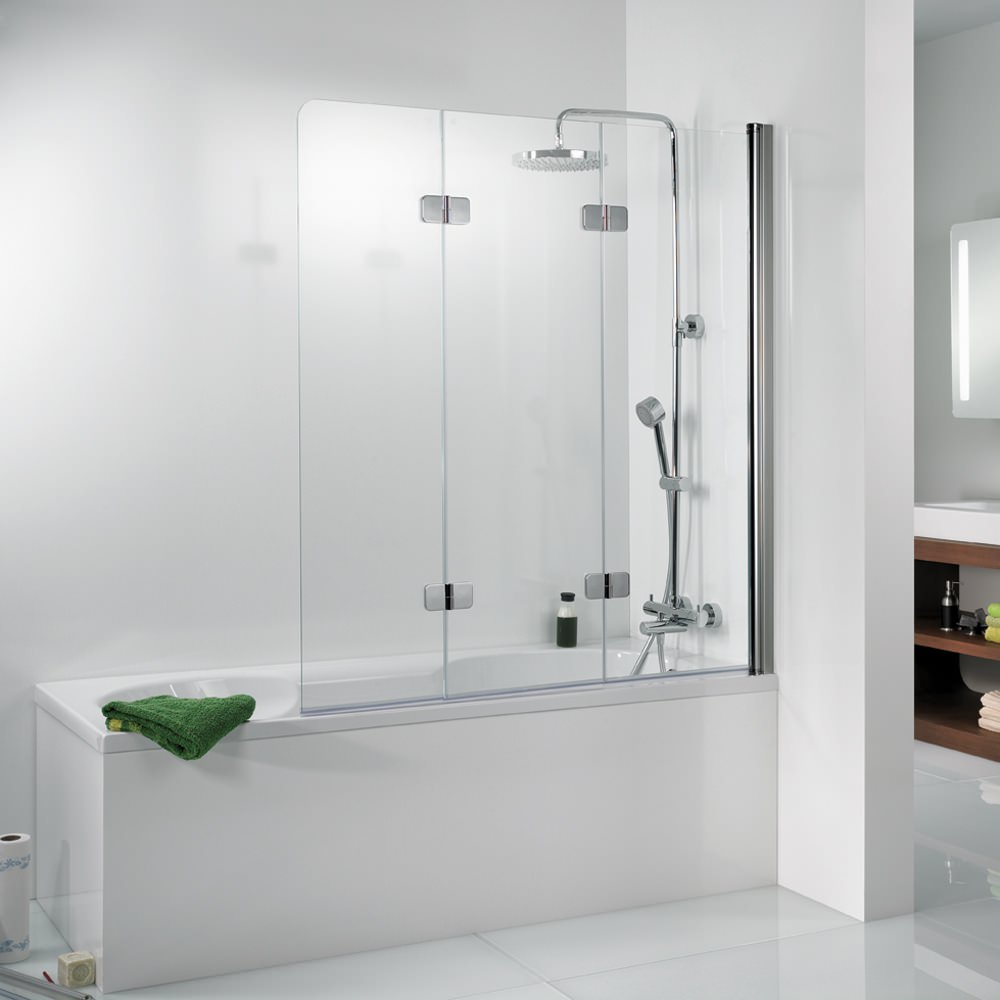 Hsk Softcube Hsk Premium Softcube 3 Panel Pivot Bath Screen 1140 X 1400mm