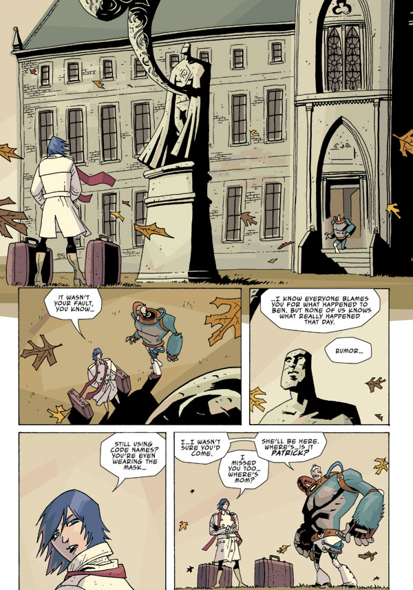 Umbrella Academy The Umbrella Academy: Apocalypse Suite #2 :: Profile