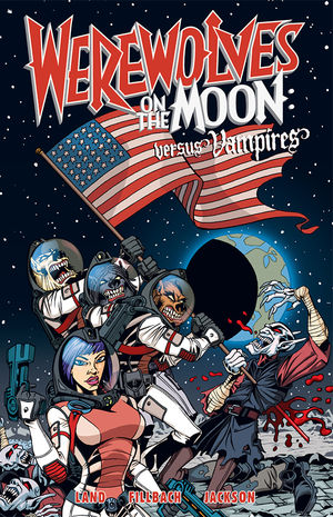 Girl In Action Wallpaper Werewolves On The Moon Versus Vampires Tpb Profile
