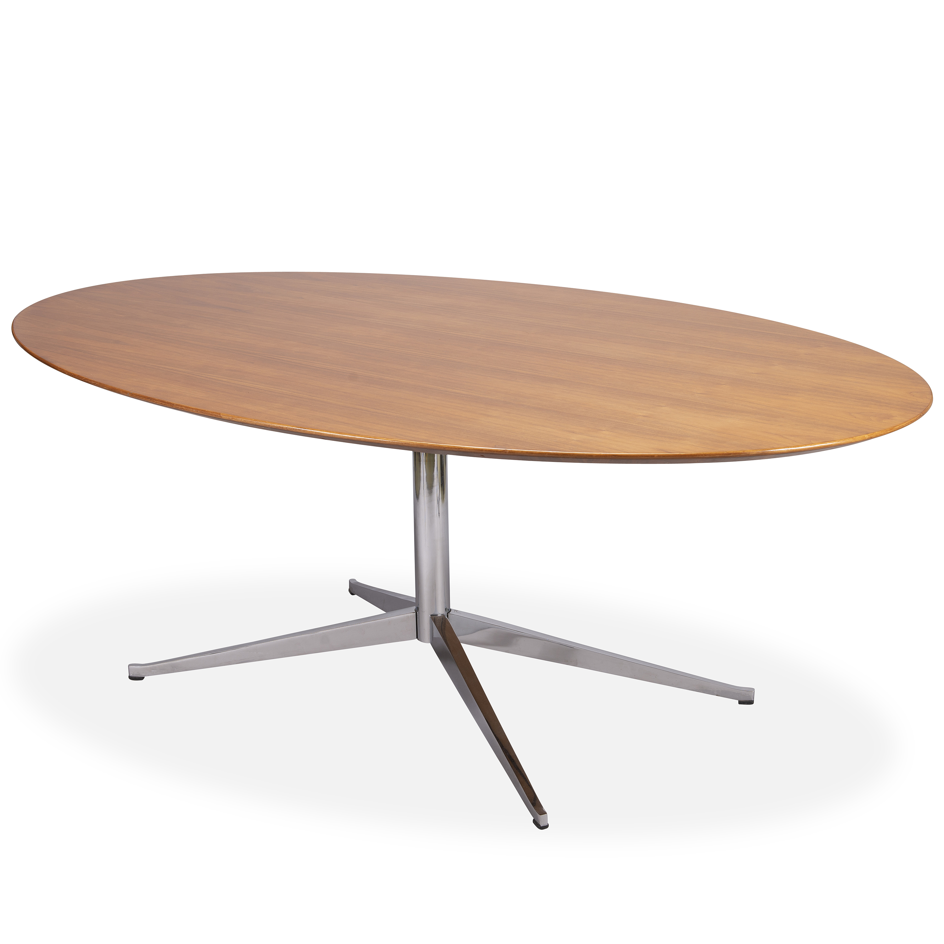 Knoll International Florence Knoll An Oval 96 Dining Table For Knoll International