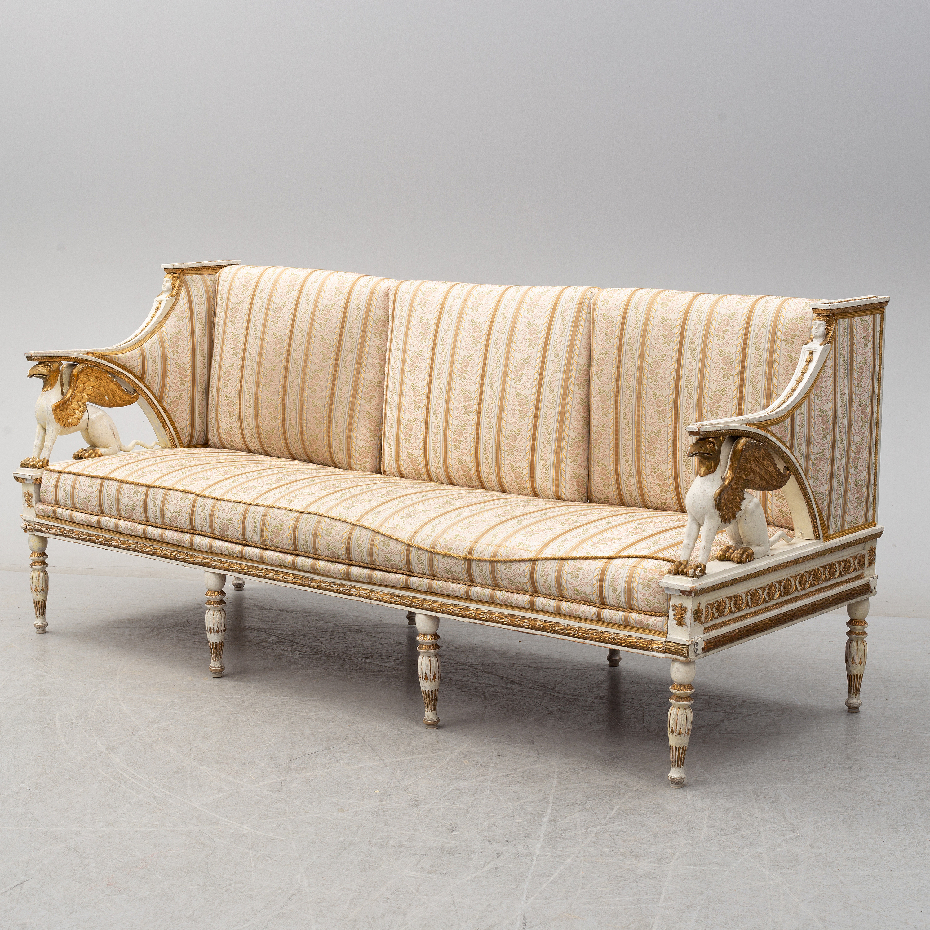 An Early 19th Century Late Gustavian Sofa Bukowskis