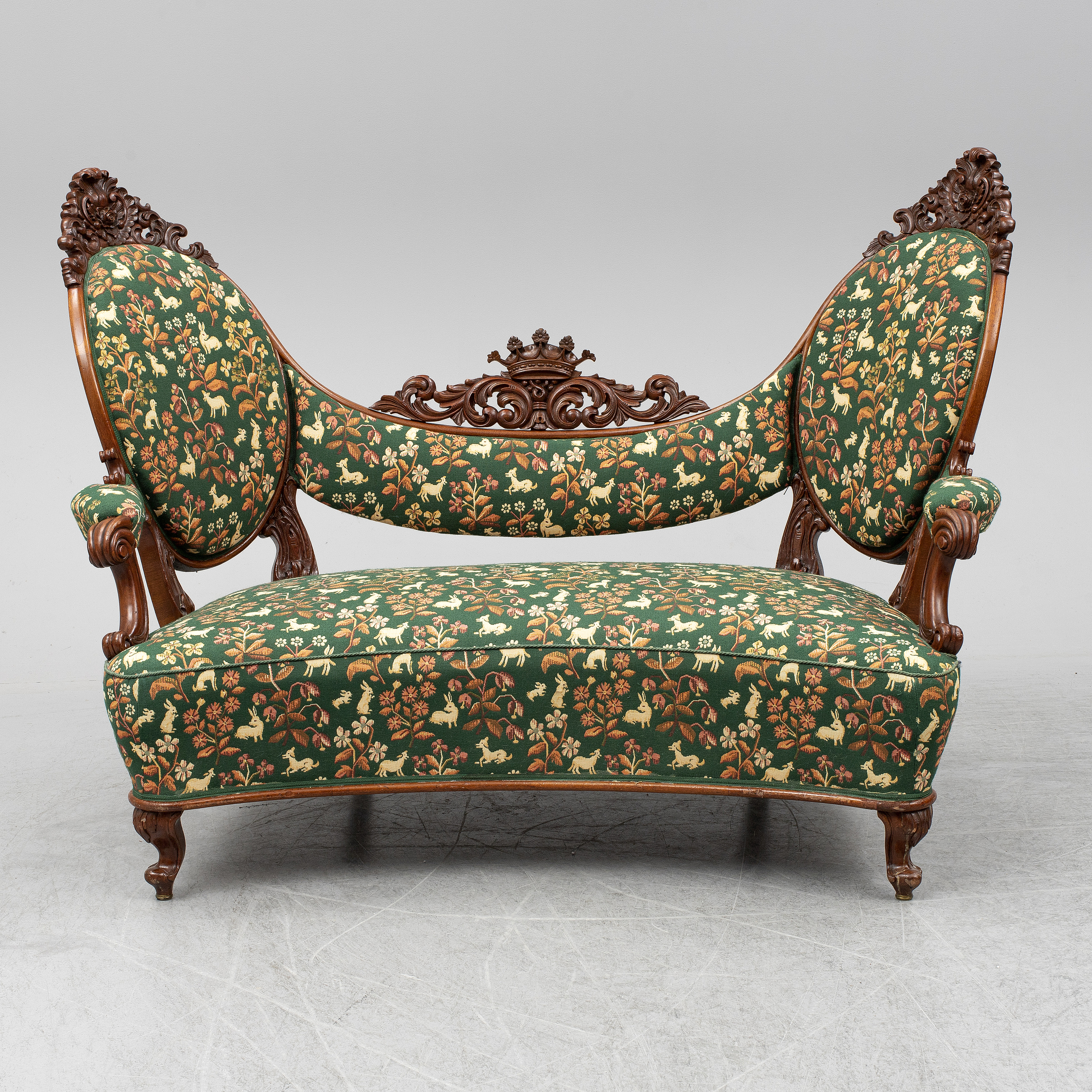 A Late 19th Century Sofa Bukowskis