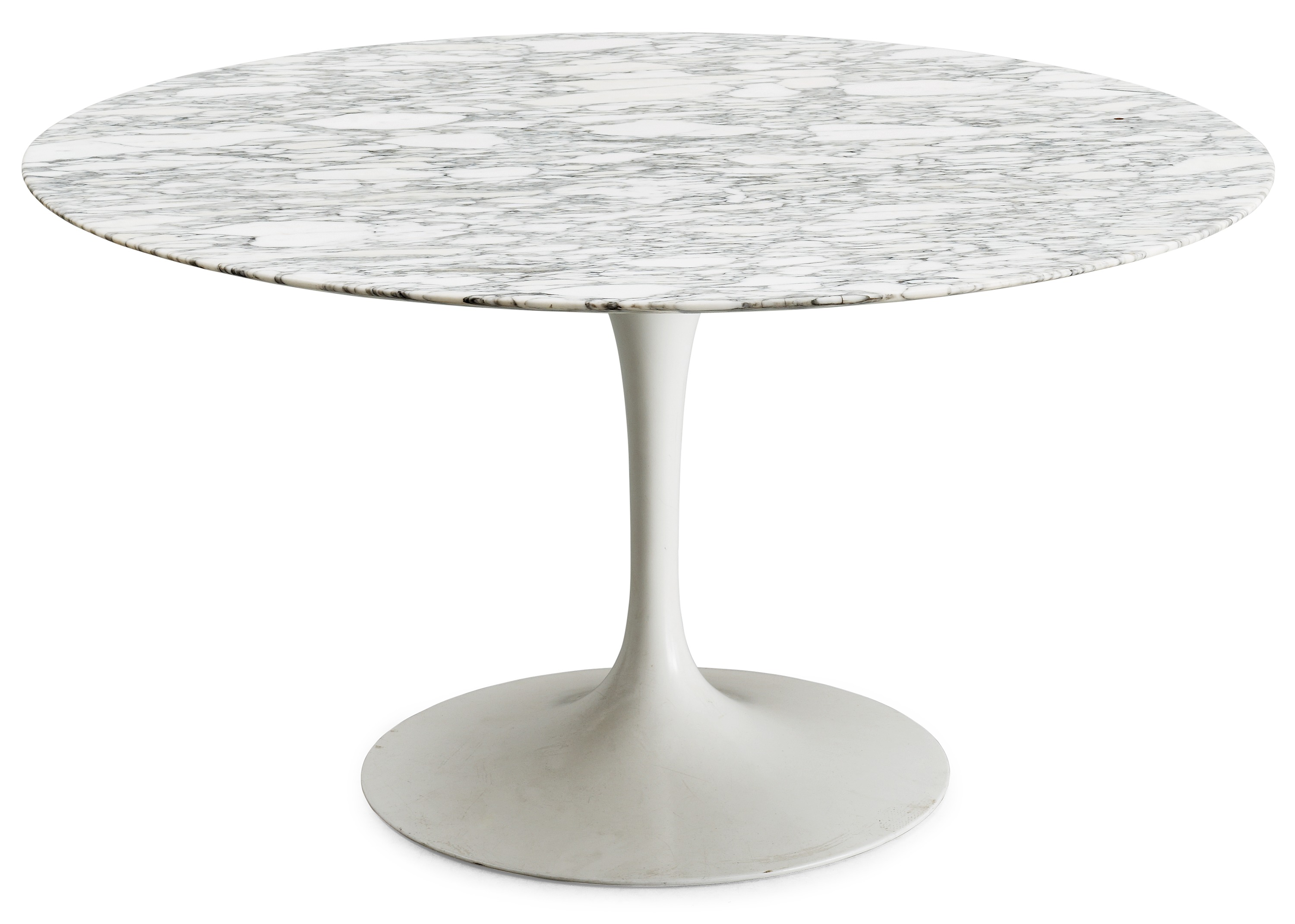 Table Knoll Tulipe An Eero Saarinen Tulip Marble Top Dinner Table Knoll