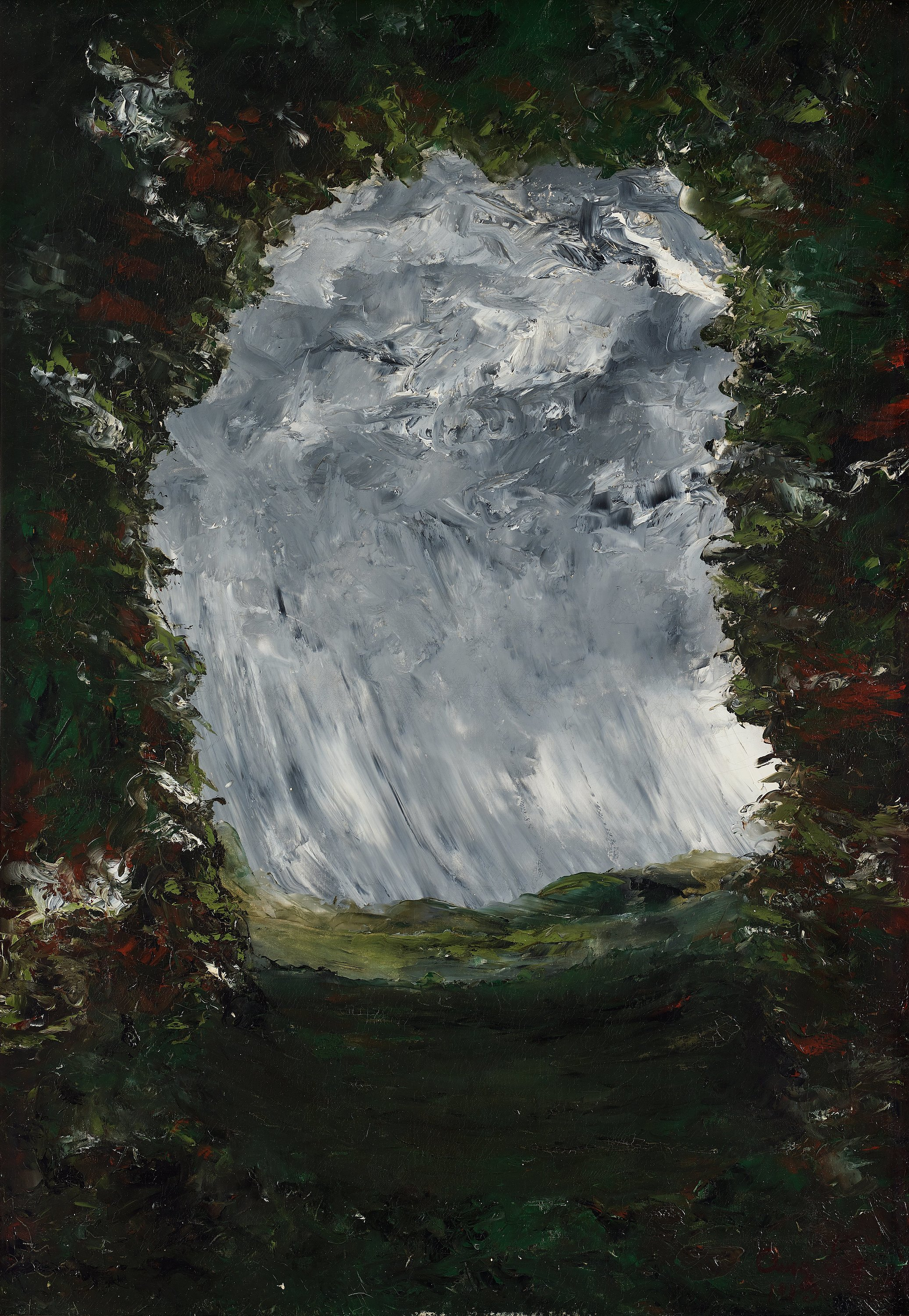 "Design Decorate New House August Strindberg, ""inferno"" (""the Inferno-painting"") Oil"