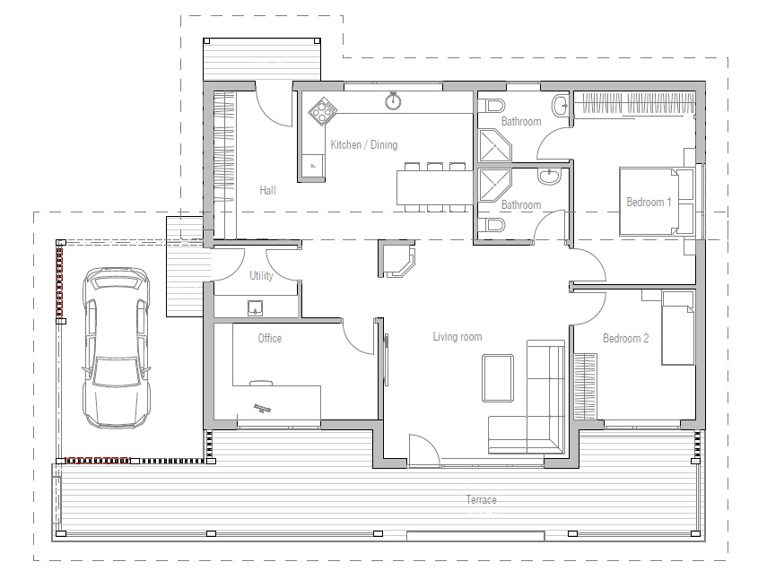 plan ch detailed building info floor plans small home plan house plans cost build home plans cost build house plans