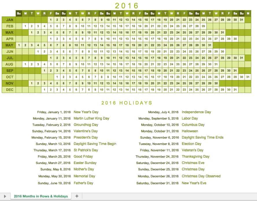 project calendar template 2016 trattorialeondoro