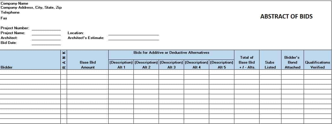 Free Construction Project Management Templates in Excel - construction schedules templates