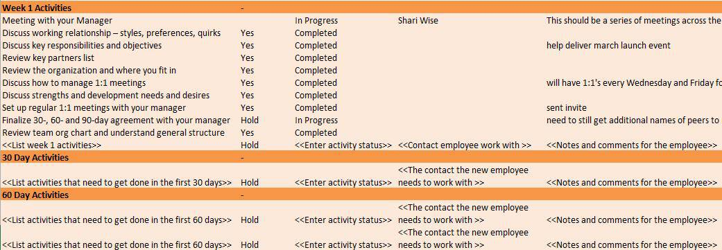 Free Human Resources Templates in Excel - resource plan template