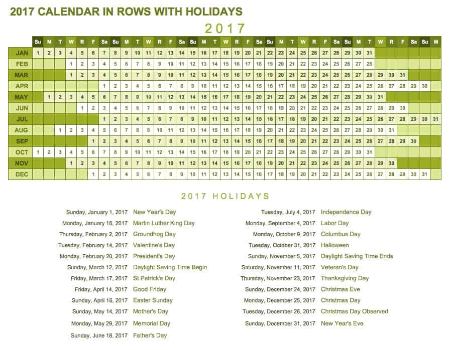 yearly academic calendar excel template - Teacheng
