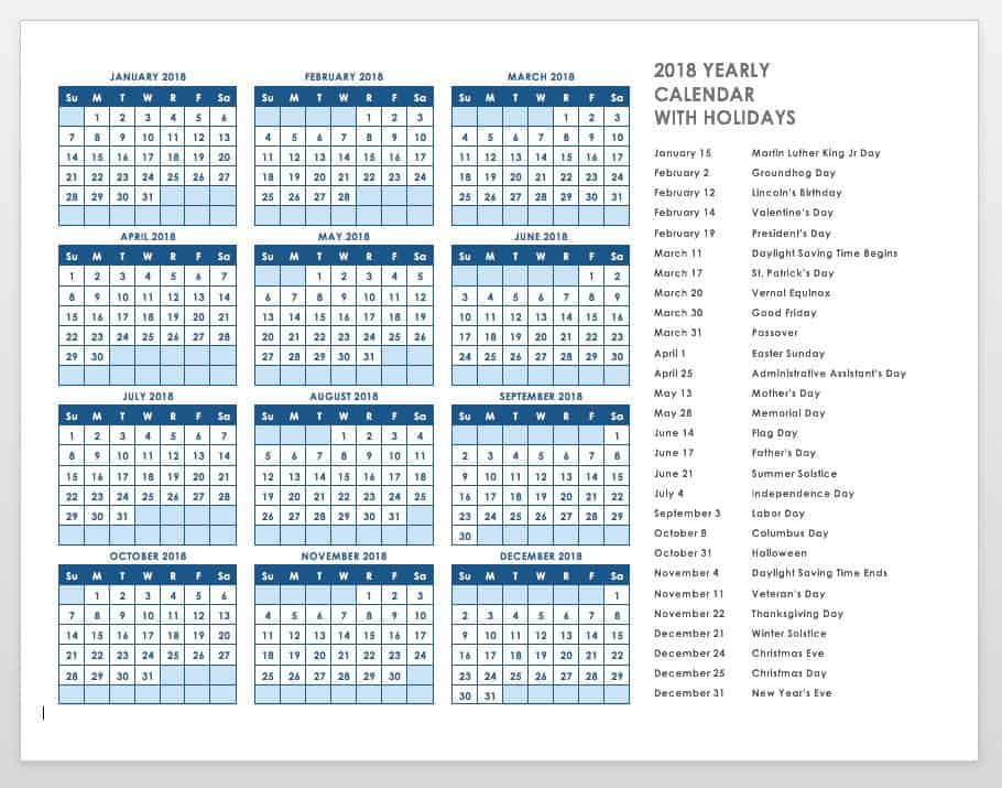Free Blank Calendar Templates - Smartsheet - school calendar creator