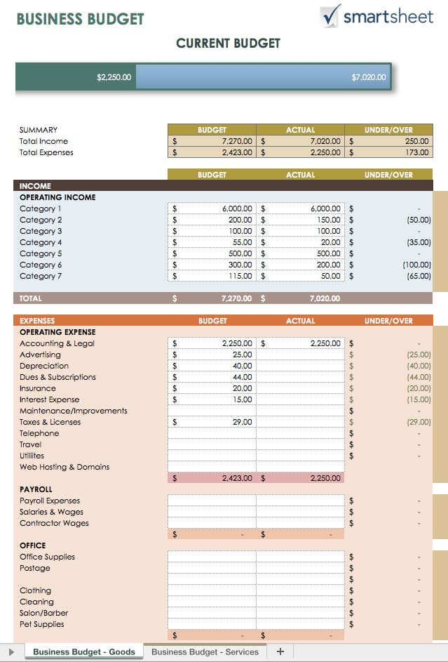 Free Expense Report Templates Smartsheet - generic expense report