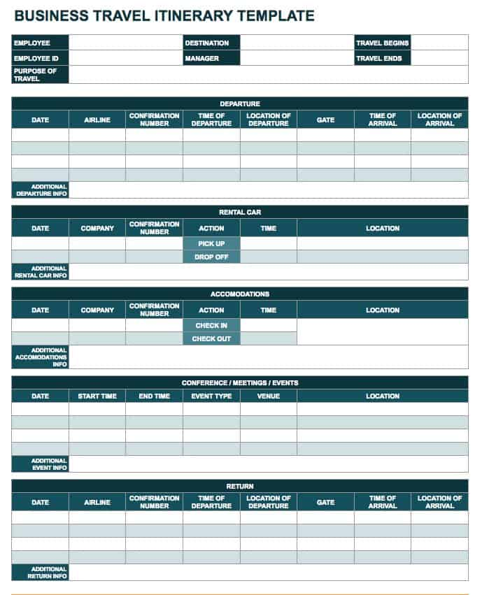 Free Google Docs and Spreadsheet Templates Smartsheet