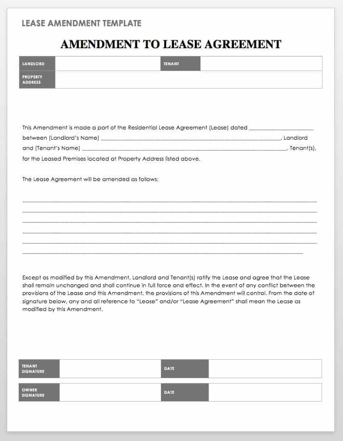 18 Free Property Management Templates Smartsheet - Tenant Information Form