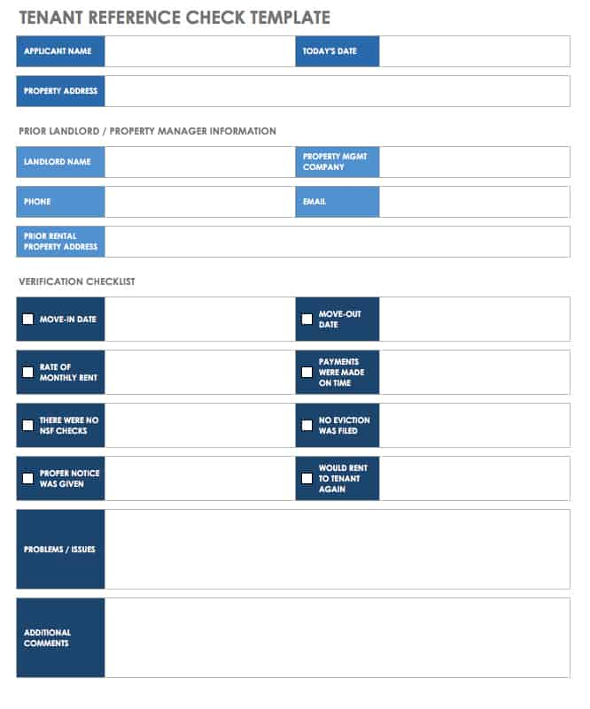 18 Free Property Management Templates Smartsheet