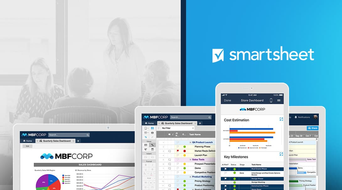 Online Project Management Software Smartsheet