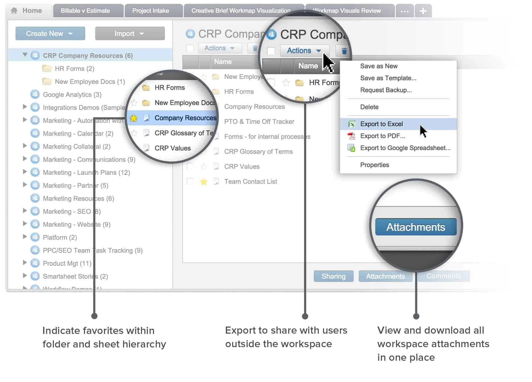 smartsheet templates