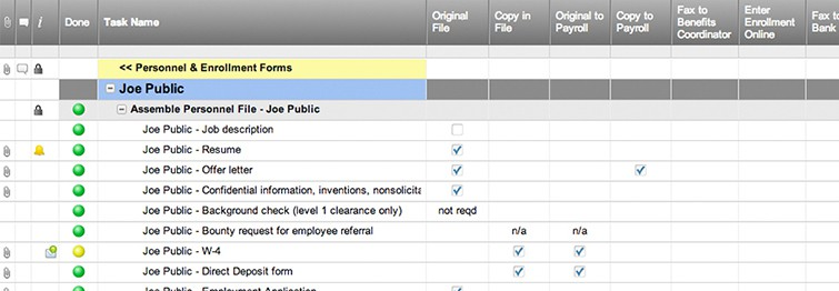 New Hire Checklist Template Smartsheet - new hire checklist template