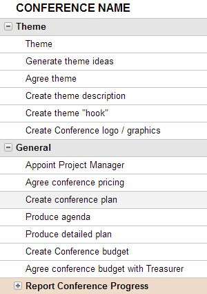 Project Manage Your Event Planning Smartsheet - how to create a agenda