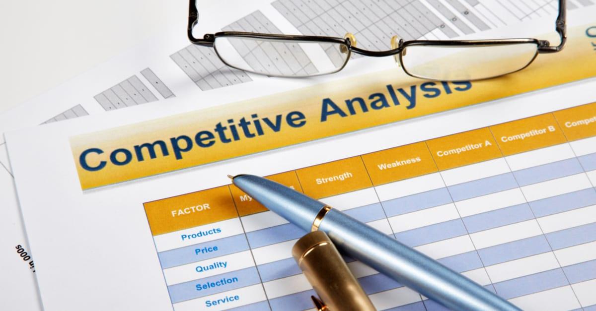 Free Competitive Analysis Templates Smartsheet