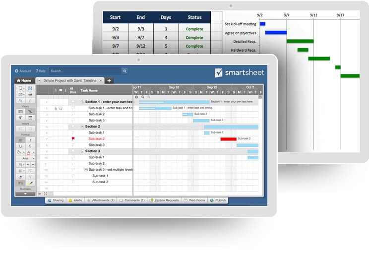 Top Project Plan Templates for Excel Smartsheet - project plan