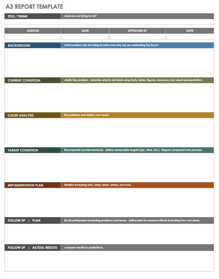 a3 project template - Onwebioinnovate - a3 report template