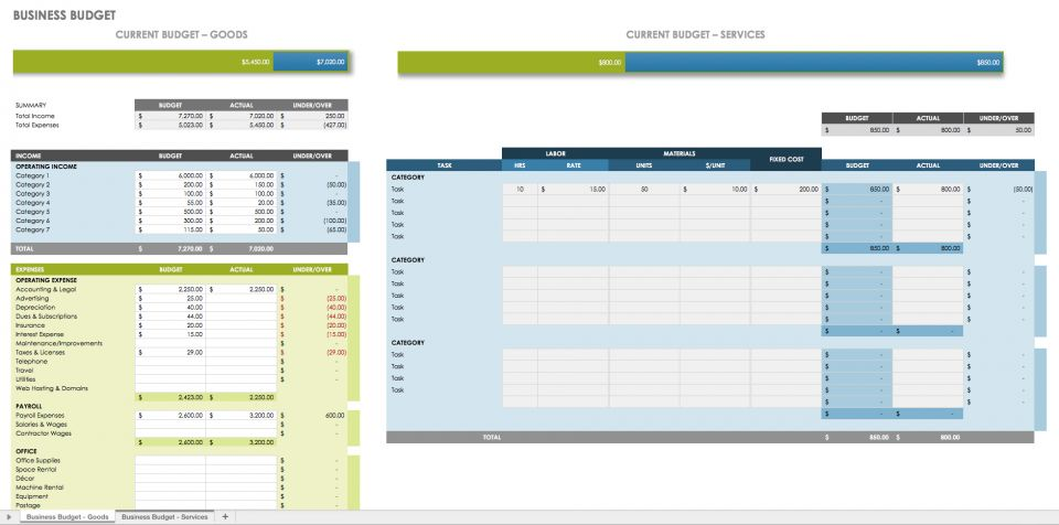 excel spreadsheet templates - Blackdgfitness