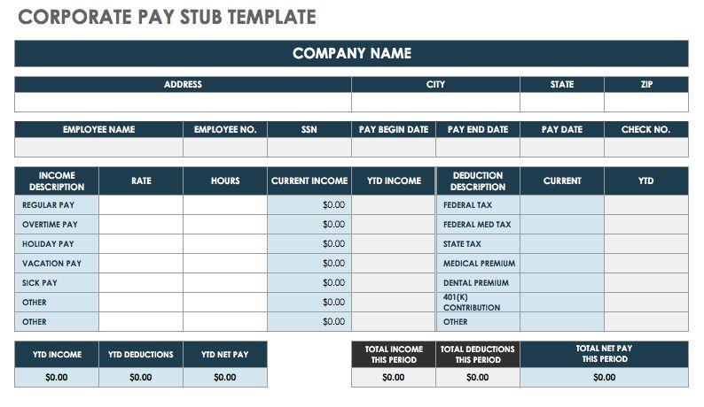 make a pay stub template - Goalgoodwinmetals