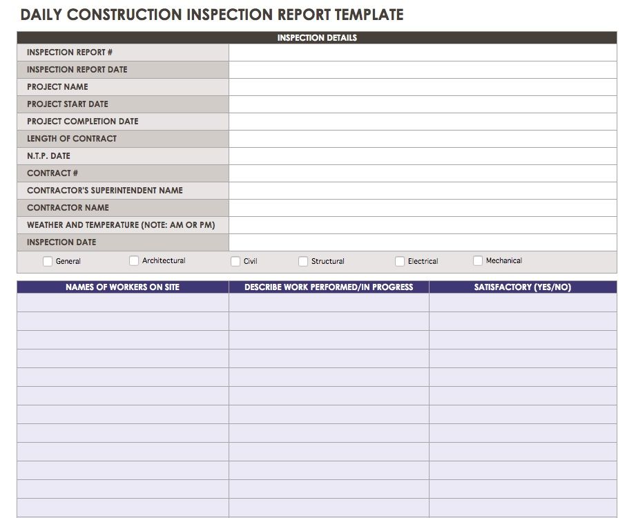 daily report template - Ozilalmanoof