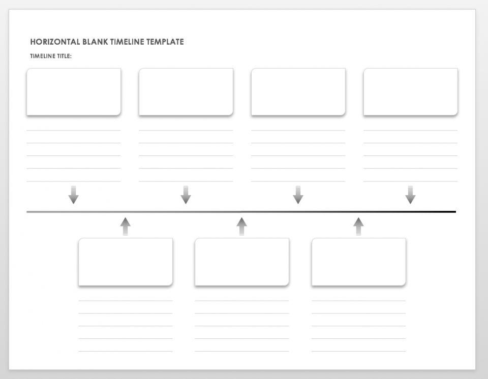 a timeline template - Eczasolinf
