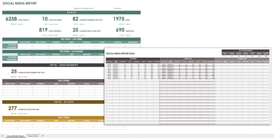 32 Free Excel Spreadsheet Templates Smartsheet - monthly report templates
