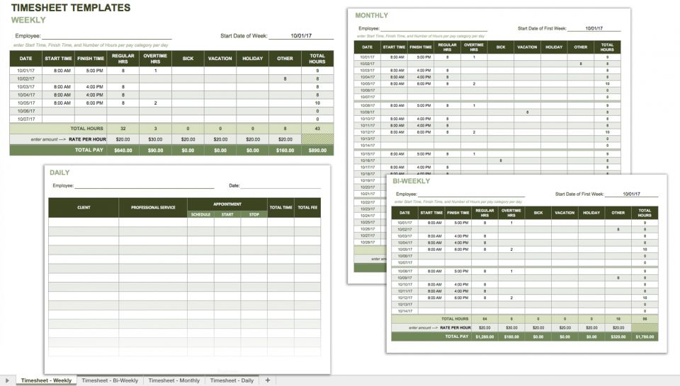 Employee Payroll Template Free Download And Software Free Attendance Spreadsheets And Templates Smartsheet