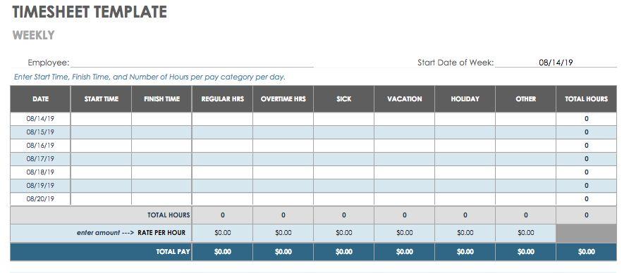 timesheet schedule template - Baskanidai
