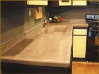 Carbon fiber reinforces concrete for kitchen countertop ...