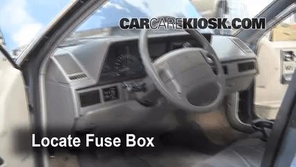 93 Buick Lesabre Fuse Box 1990 1996 Oldsmobile Cutlass Ciera Interior Fuse Check