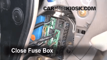 Interior Fuse Box Location 1998 2002 Honda Accord 2000