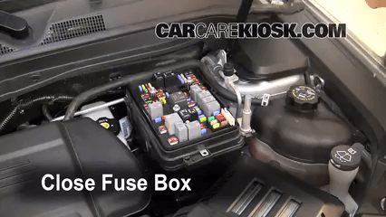 2017 gmc terrain fuse box diagram