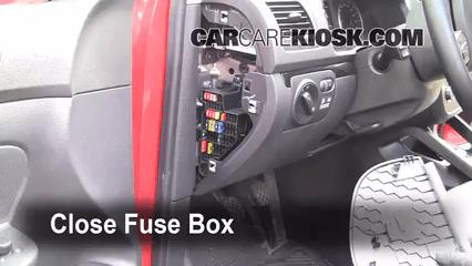 2011 volkswagen cc fuse box location