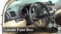 √ 2012 Toyota Highlander Fuse Box Location | 2006 Toyota Highlander