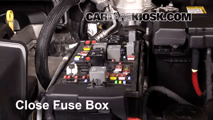 chevrolet colorado fuse box