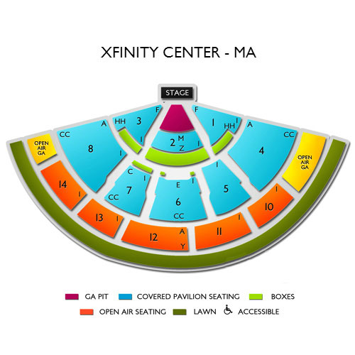 Hootie and The Blowfish Mansfield Tickets - 8/3/2019 Vivid Seats