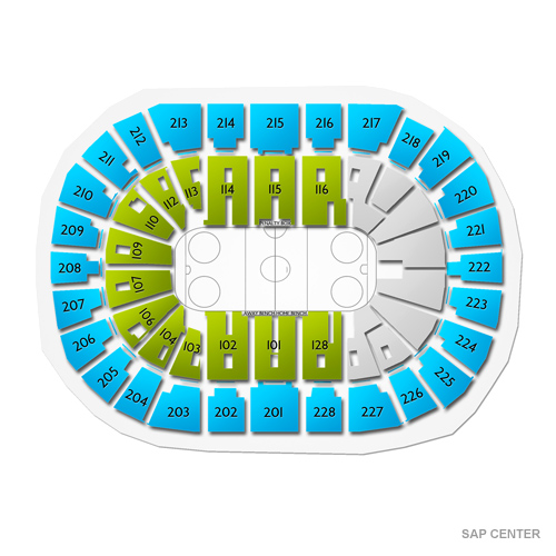 Grand Rapids Griffins at San Jose Barracuda Tickets - 4/6/2019 115