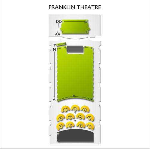 franklin theatre seating chart - Heartimpulsar