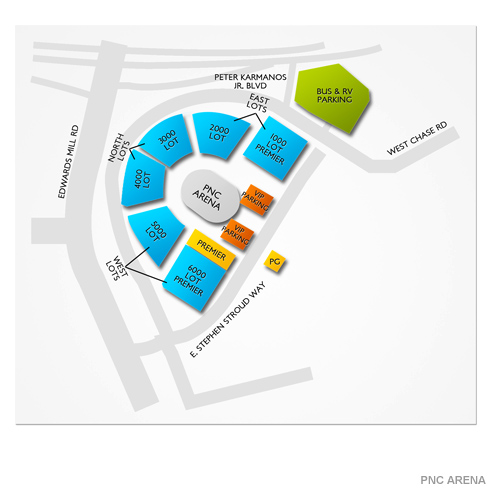 Pnc Arena Parking Diagram - Block And Schematic Diagrams \u2022