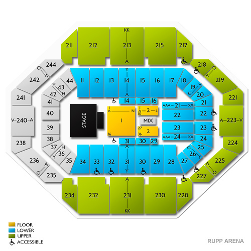 Paul McCartney Lexington Tickets for Rupp Arena - 6/1/19
